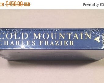 ON SALE COLD Mountain Charles Frazier (1997 Slipcase Sealed Hardcover, Atlantic Monthly Press) Rare Limited 1st Edition - Historical Civil W