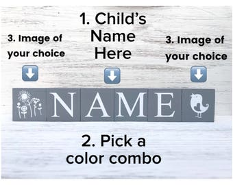 Build your own Name Blocks