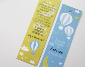 Bookmark Wedding Favor Baptism