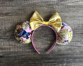 Beauty and the Beast Mickey Ears