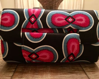 Ankara Clutch purse set