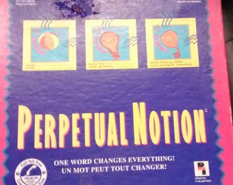 Vintage Perpetual Notion Game by Pressman - 1993 Edition