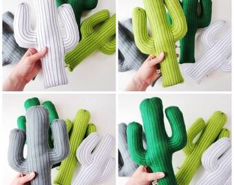 Saguaro cactus pillow, cactus cushion, desert pillow, cactus plush, felt cactus, succulent cushion, adventure nursery, southwestern cacti