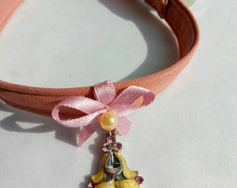 Fancy cat or dog collar - fall autumn cat collar with non-breakaway  buckle - cute cat collar - small dog collarBlack Friday