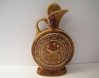 SALE Elks BPOE Centenial Decanter, Vintage Jim Beam collectible decanter celebrates 100 years Elks Fraterinty,  150 years 2018, Dad gift