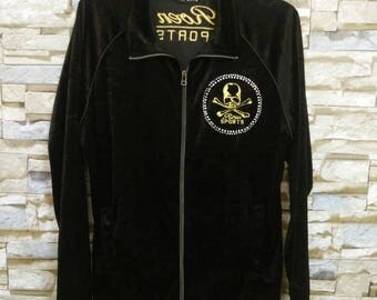 Vintage Roen Jacket Punk Rock Skull Bones Hiromu Takahara Embroidered Roen Sports Mastermind Japanese