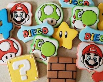Mario Bro.  Cookies