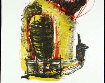 Untitled, 1997. Lithograph by Jean DRACHE