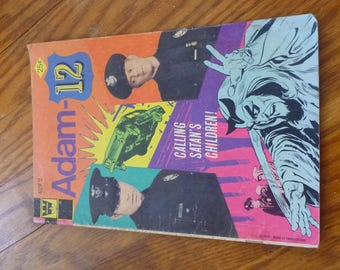 1973 Adam 12 comic book #5 in good condition