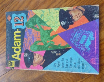 1973 Adam 12 #6 comic book
