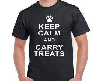 Keep calm and carry treats, halloween T shirt, funny halloween shirt, Keep calm T shirt, Funny shirt, Halloween tee