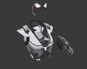 Cosplay Widowmaker Talon armor props