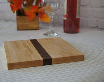 CB04 - Custom-Made Cutting Board 8x8 Maple