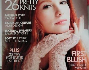 Early Fall 2015 Vogue Knitting Magazine Original Not a PDF New Magazine