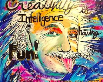 Albert Einstein Creativity Quote