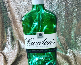 Gordans Gin Bottle Light