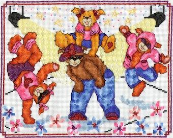 Street dance bears