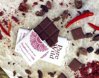 Luxury Raw Organc chocolate bars