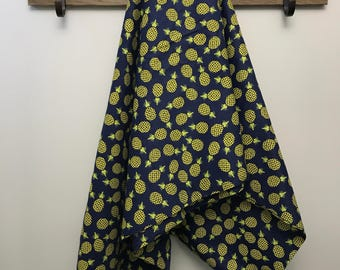 Pineapple Flannel Swaddle Receiving Baby Newborn Toddler Blanket Large