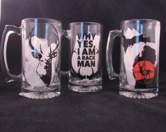 Hunting Beer Mugs