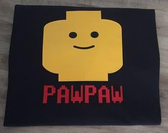 Lego man/family shirt/legoland