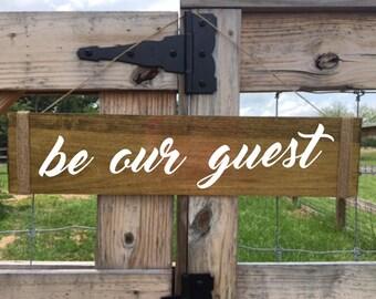 Be Our Guest, Farmhouse Chic Decor, Farmhouse Decor, Guest Room Decor, Guest