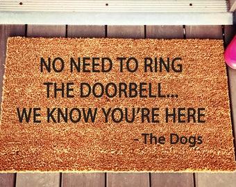 Dog Doormat Etsy