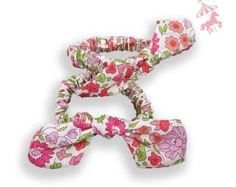 Elastic duo Liberty anjo® pink baby / child