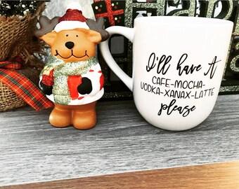 Coffee mug | Funny mugs | Cute mug | Coffee | Pinterest