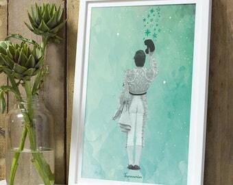 Matador brindis stars A4 unframed print