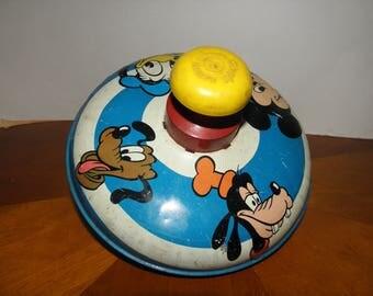 Disney Chein Toy Top