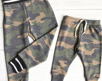 Camo joggers | camoflauge leggings | baby leggings | toddler pants | woodland leggings | hunting kids leggings | winter leggings baby