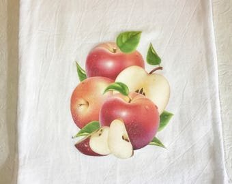 Apple Flour Sack Towel