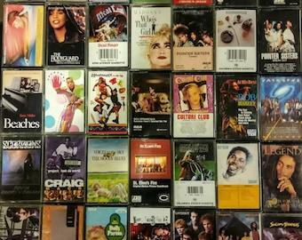 Cassette Tapes List #1--80's & 90's Music,Soundtracks
