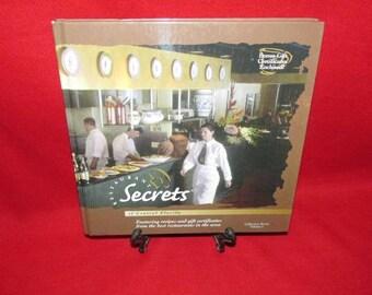 """Vintage Cook Book """"Restaurant Secrets of Central Florida"""""""