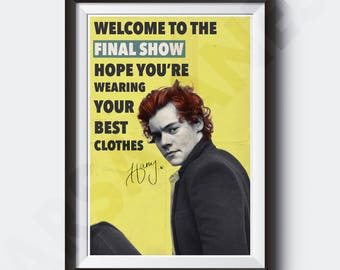 HARRY STYLES Sign of the Times   Painting Poster   Print   Final Show - #U10
