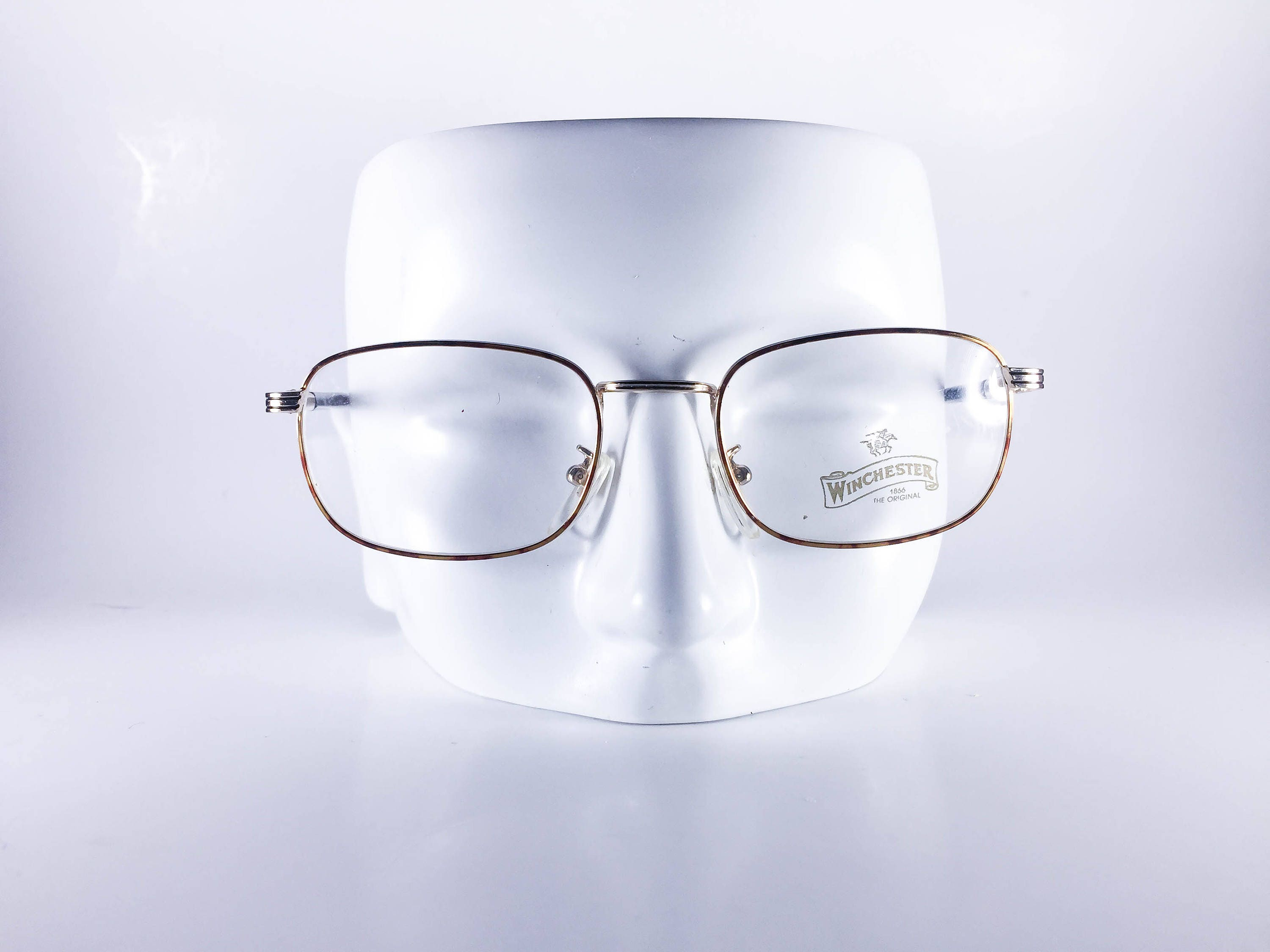 e6aa6586fe0 WINCHESTER Vintage Eyeglasses by Magic Line Made in Italy Guide 50-19 448 L