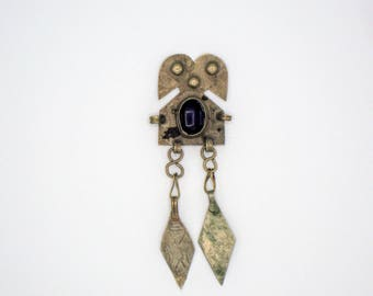 Blue Stone Turkoman Pendant