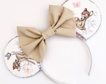 The Fawn - Handmade Mouse Ears Headband