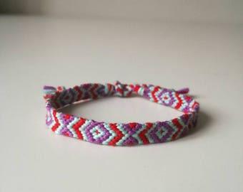 woven bracelet, friendship arm band, festivalstyle