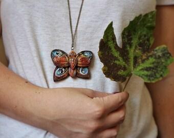 """collana ciondolo mariposa """"Dreamer"""""""