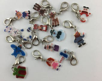 Rudolph the Red-Nosed Reindeer Charms
