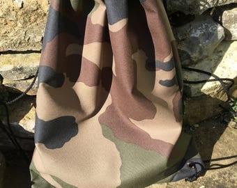 Gymnastic bag-backpack-Bundeswehr/camouflage