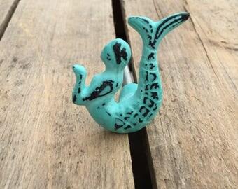 Mermaid drawer knob | Etsy