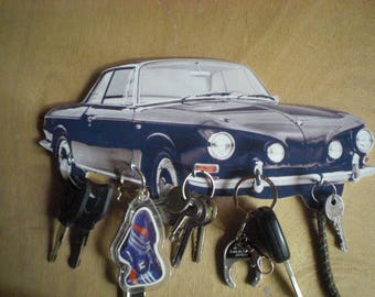 Karmann ghia hook key/KARMANN GHIA keychain