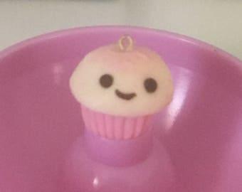 Kawaii strawberry cupcake
