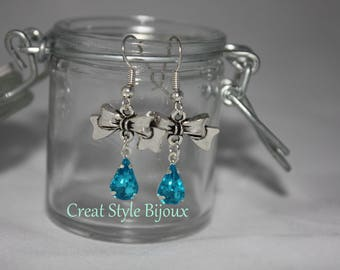 very pretty blue turquoise earring