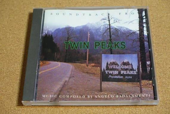Soundtrack From Twin Peaks by Angelo Badalamenti Vintage CD Compact Disc