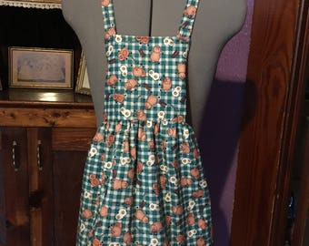 Country Bacon & Eggs Girls Apron size 3-4