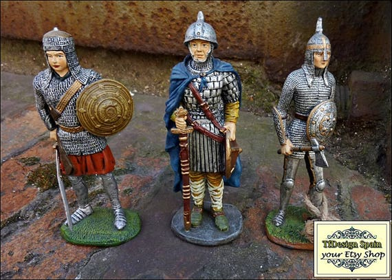 Soldiers figurines, Metal soldiers figurines, Small soldiers figures for sale, Art figure soldiers, Warriors figures, Warriors medieval 11cm